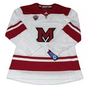 Adidas Climalite Miami Ohio Redhawks Hockey Jersey